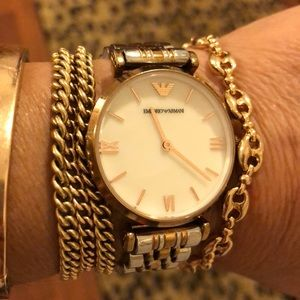 EMPORIO ARMANI OROLOGI water resistant watch